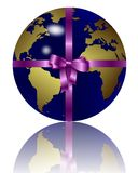 Earth as gift Stock Photos