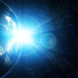 Earth as seen from space Royalty Free Stock Images
