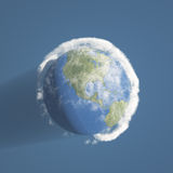 Earth and atmosphere Stock Images