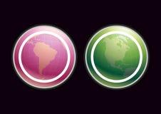 Earth Background Large Stock Image