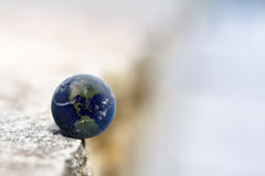 Earth in the balance Royalty Free Stock Photos