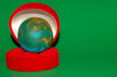 Earth ball Royalty Free Stock Photo