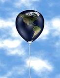 Earth balloon 01 Royalty Free Stock Photography