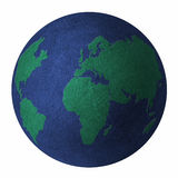 Earth-balls Royalty Free Stock Photos