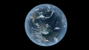 Earth. A beautiful image from in the black space Royalty Free Stock Photos