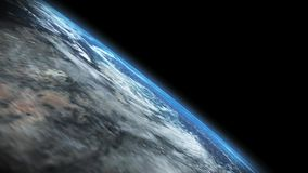 Earth - beautiful outer space footage of planet Earth stock video footage