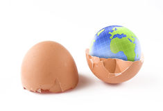Earth birth Royalty Free Stock Images