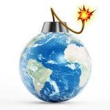 Earth bomb Stock Photos