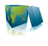 Earth box Stock Image