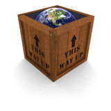 Earth in a Box - This Way Up Stock Photography