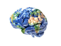 Earth brain Stock Images