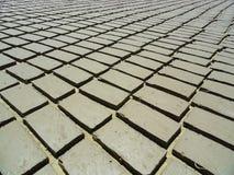 Earth bricks Stock Photo