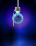 Earth Bulb Royalty Free Stock Image