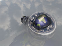 Earth Bulb Royalty Free Stock Images