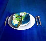 Earth cake - Asia Stock Images