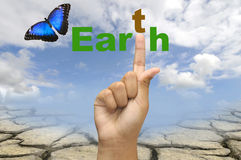 Earth care Stock Images
