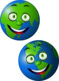 Earth cartoon Stock Photography