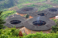 Earth Castle in Fujian, South of China Stock Photo