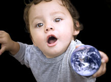 Earth child Royalty Free Stock Images