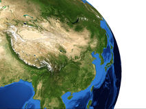 Earth China Royalty Free Stock Photo