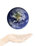 Earth conservation Royalty Free Stock Photos