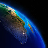 Earth continents. Elements of this image furnished by NASA royalty free stock images