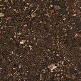 Earth covered with mulch Royalty Free Stock Image