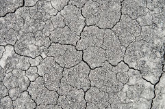 Earth with cracks Royalty Free Stock Photos