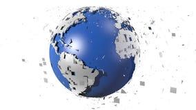 Earth creation stock footage