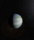 EARTH. 3d illustration of Earth in the outer space Stock Photo