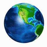Earth Asia View Stock Images