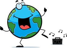 Earth Dancing Stock Photo