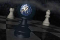 Earth danger Stock Images