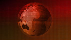 Earth Data Network Technology Abstract stock footage