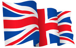 UK British flag Royalty Free Stock Photo