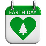 Earth Day April 22 Stock Photo