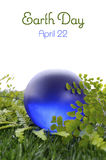 Earth Day, April 22, Concept Image Stock Photos