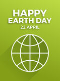 Earth day, April 22 Stock Photo