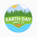 Earth day, April 22 Royalty Free Stock Image