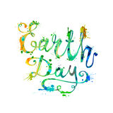 EARTH DAY. April 22 Royalty Free Stock Image