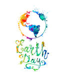 EARTH DAY. April 22. Royalty Free Stock Photos