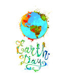 EARTH DAY. April 22. Stock Images