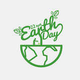 Earth Day. 22 April Earth Day Vector Illustration Royalty Free Stock Image