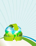 Earth Day Background Stock Images