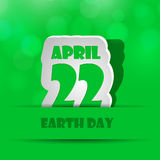 Earth Day background Royalty Free Stock Photography