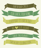 Earth Day Banners Collection Stock Image