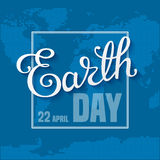 Earth Day Card Royalty Free Stock Photography
