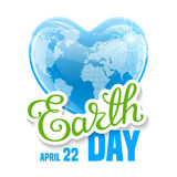 Earth Day Card Royalty Free Stock Images