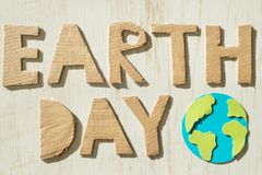 Earth day concept Stock Photography