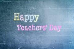 World Teachers` Day concept: Happy world teacher`s day